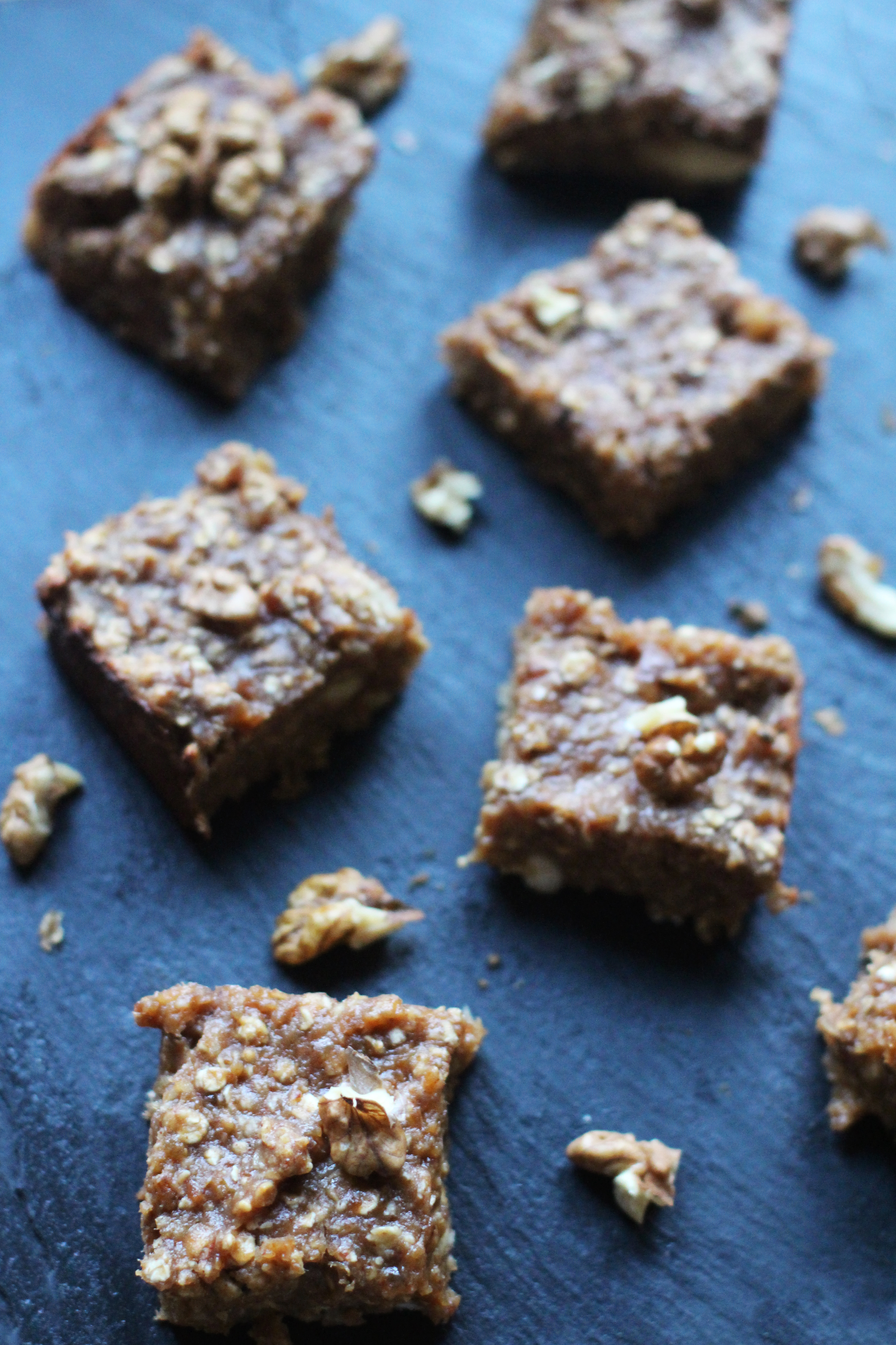 Cinnamon Nut Butter Squares