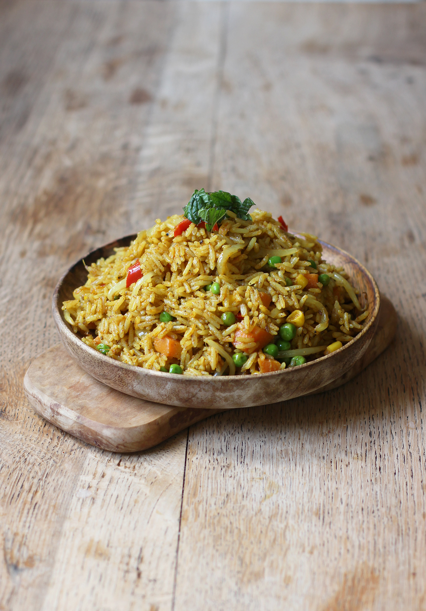 curried coconut rice