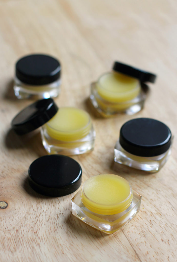 citrus grapefruit lip butter
