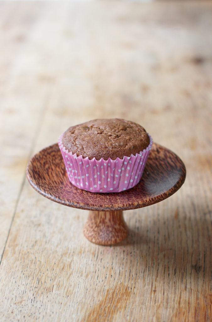 dessert for one: carrot cupcake