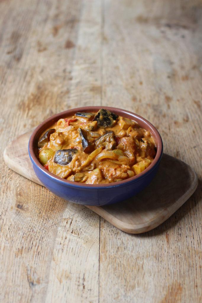 vegetable yogurt curry