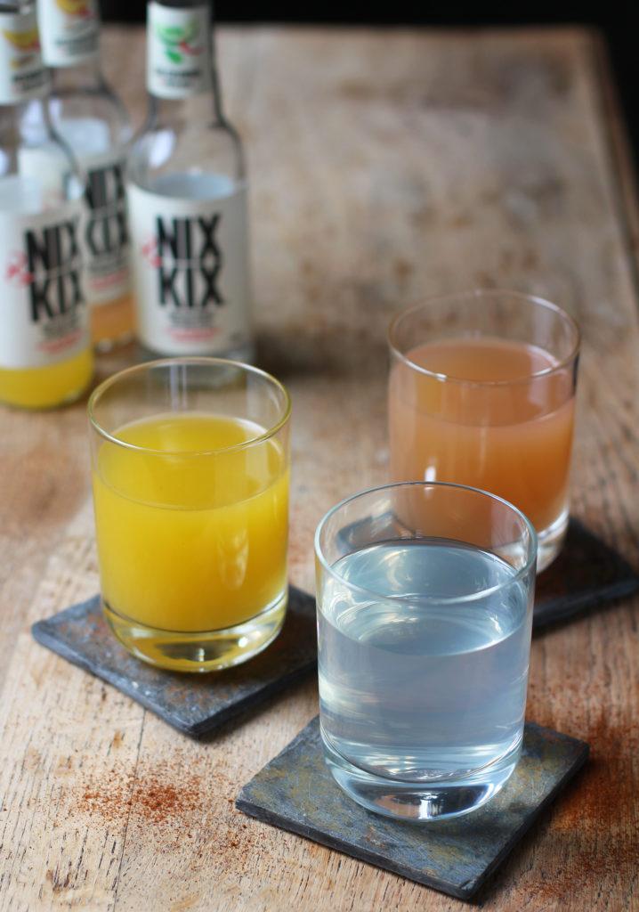 nix & kix cucumber and mint drink