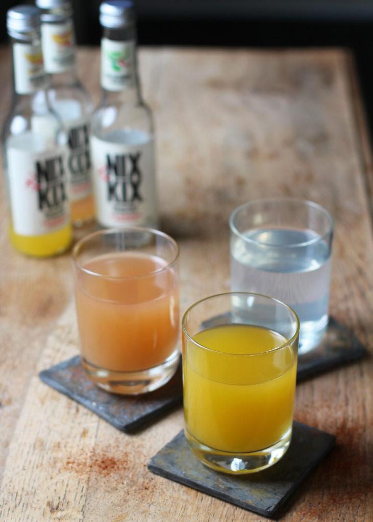 nix & kix mango and ginger drink
