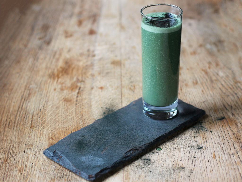 green energy booster smoothie