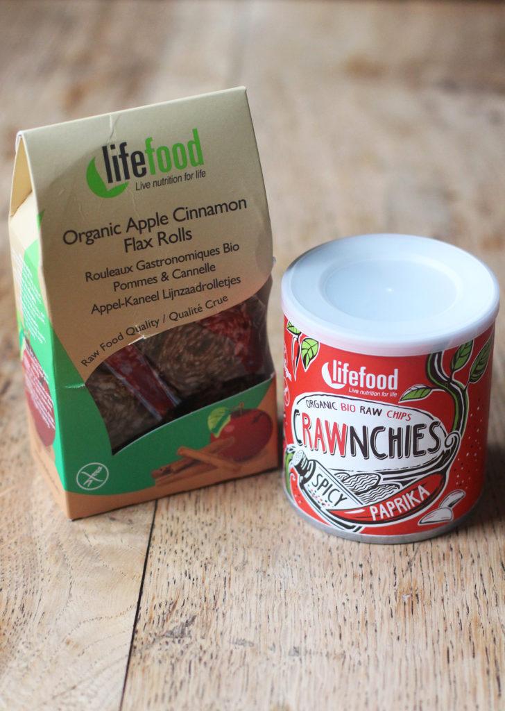 life food raw snacks