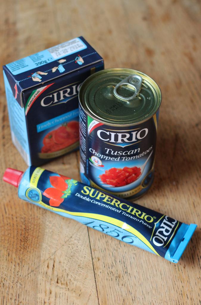cirio tomato products