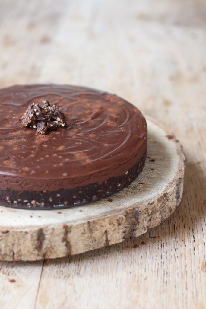chocolate truffle tart - Harriet Emily