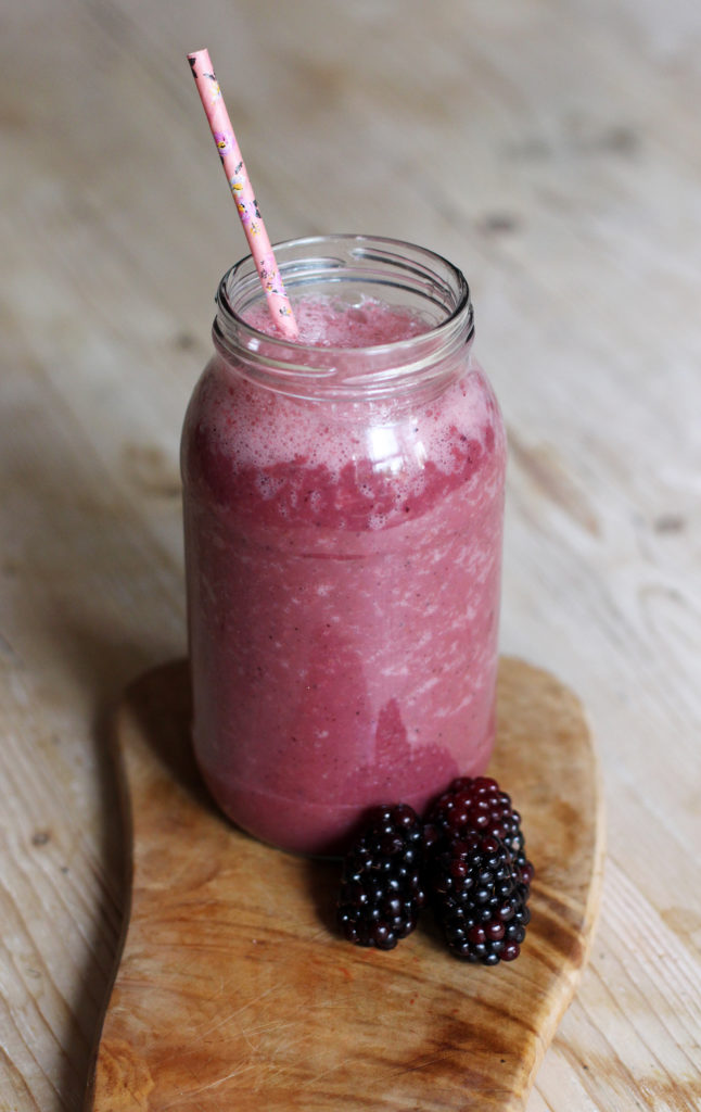 watermelon & berry smoothie